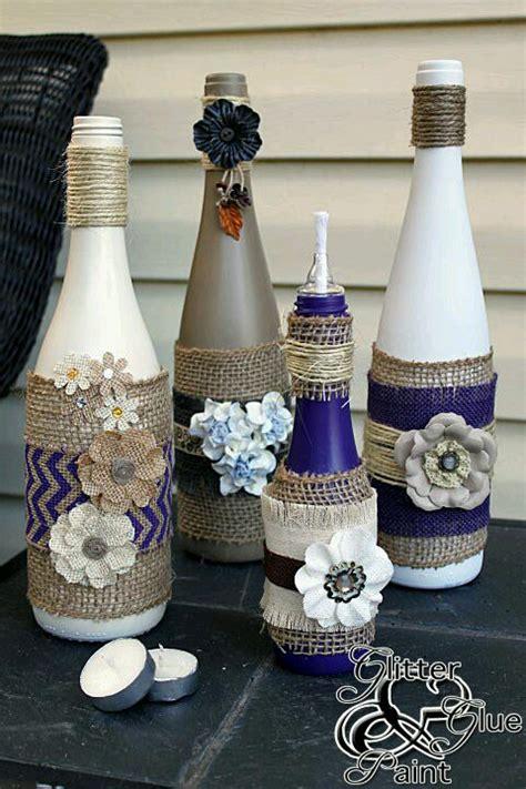 Wine Decorating Ideas by Wine Bottle Decorating Ideas Trusper