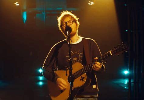 ed sheeran rap ed sheeran debuts rap heavy track eraser during live