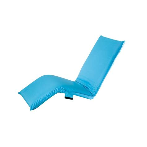 Sunjoy Adjustable Turquoise Outdoor Lounge Chair Cushion
