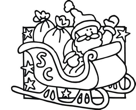 coloring squared santa coloring pages