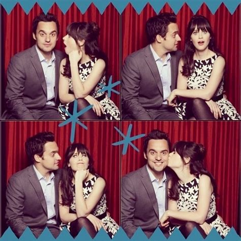 Awesome Tv Couples by New Jake Johnson Zooey Deschanel New