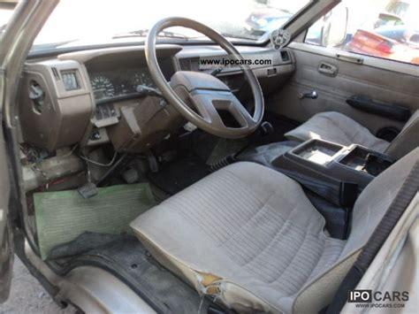nissan vanette interior 1993 nissan vanette 2 0 diesel box 2schiebet 252 ren