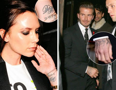 celebrity couple tattoos c a c a m e r b a ink tattoos