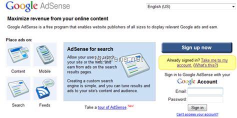 adsense login google adsense revenue share disclosed officially techrena