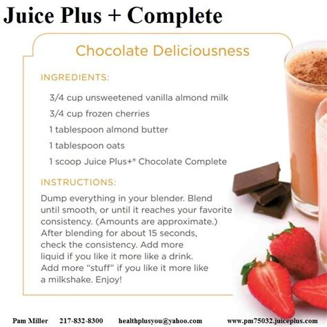 Complete Detox Recipe by The 25 Best Juice Plus Shakes Ideas On