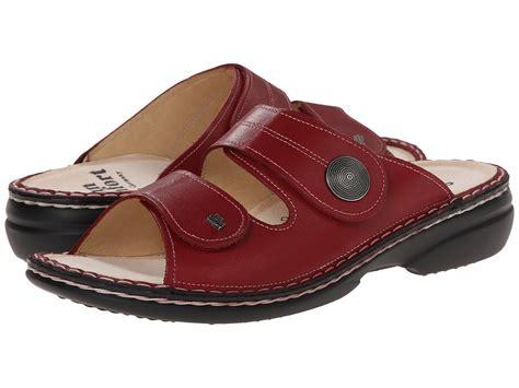 finn comfort clearance finn comfort sansibar 82550 red leather zappos com