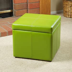 Lime Green Storage Ottoman Lime Green Patent Leather Ottoman Cube Green Leather Storage Ottoman Ottoman Tray Interior