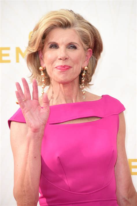 Christine Baranski Christine Baranski At 2015 Emmy Awards In Los Angeles 09
