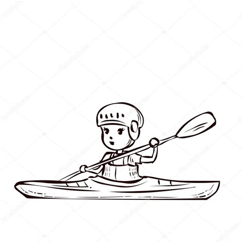 canoes drawing canoe paddle drawing at getdrawings free for