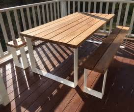 Kitchen Island Legs Timber Outdoor Tables Australia Lumber Furniture