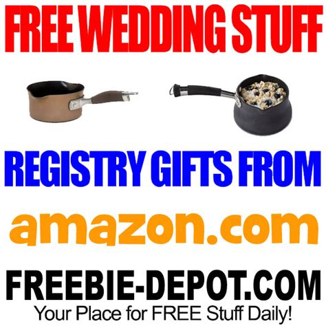 Wedding Registry Freebies by Free Wedding Stuff Registry Gifts Freebie Depot