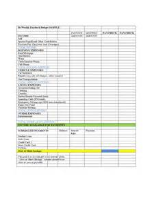 bi weekly budget template 3 free templates in pdf word