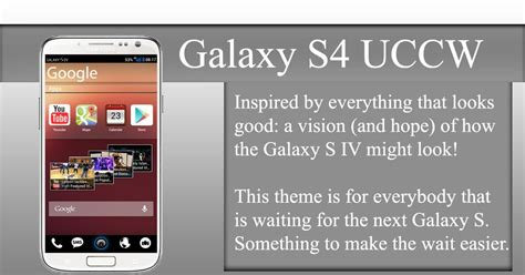 theme apk s4 galaxy s4 theme uccw v2 0 android apk world