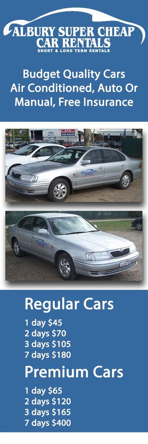 Cheapest Car Insurance Nsw by Albury Cheap Car Rentals Car Rental Hire 419