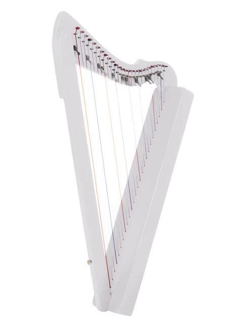 harpsicle flatsicle harp  string levers cfb white
