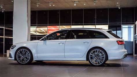 Audi Rs6 Matt by Exclusive Matte Glacier White Audi Rs6