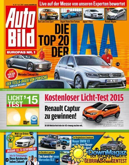 Auto Bild 09 2015 by Auto Bild 38 18 09 2015 187 Download Pdf Magazines