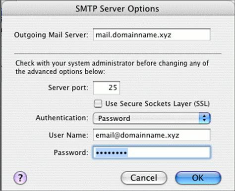 roadrunner email setup mac mail how to set up an email account for apple mac mail