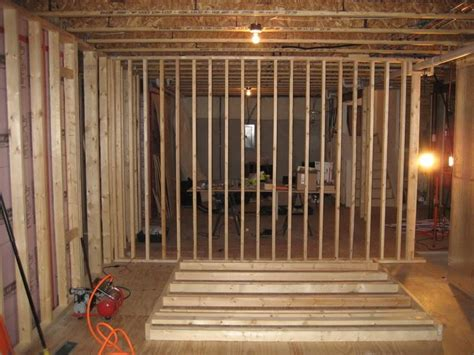 how to repair how to frame walls for basement basement