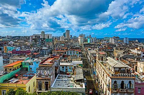 Where To Visit In Cuba the havana skyline from park central havana