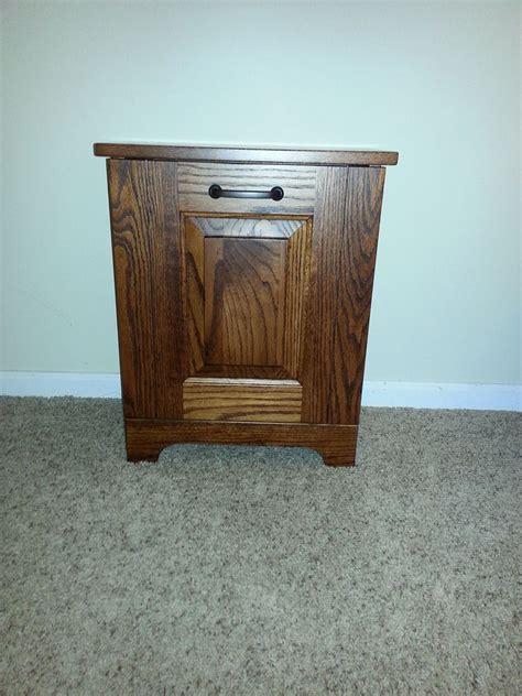 Where To Trash Furniture - amish made mini tiltout trash bin four seasons
