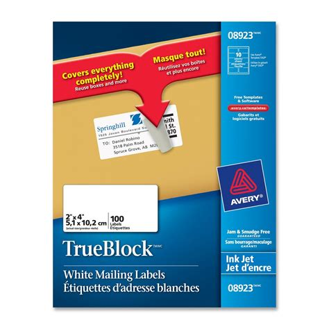 Avery Shipping Labels 8168 Template