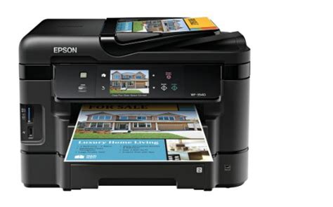 Epson Workforce Wf 7520 All In One Printer epson workforce wf 7520 all in one wireless color 13 x 19 printer with 11 x 17 scanner