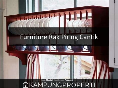 Rak Piring Cantik jual distributor supplier pabrik furniture rak piring