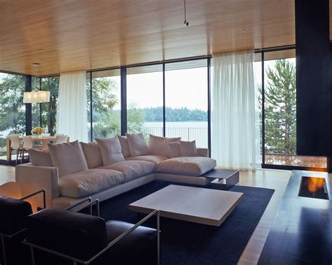 living room with l shaped sofa japanese inspired living room with l shaped sofa and built