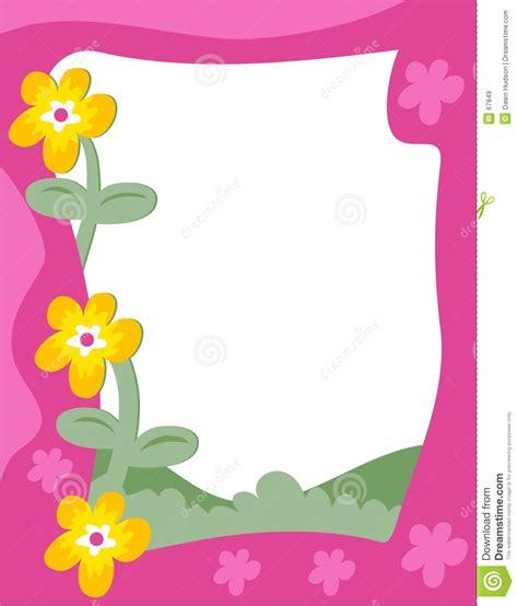 garden border stock vector illustration  outdoors