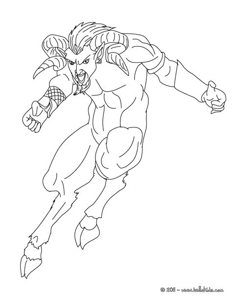 greek mythology creatures coloring pages