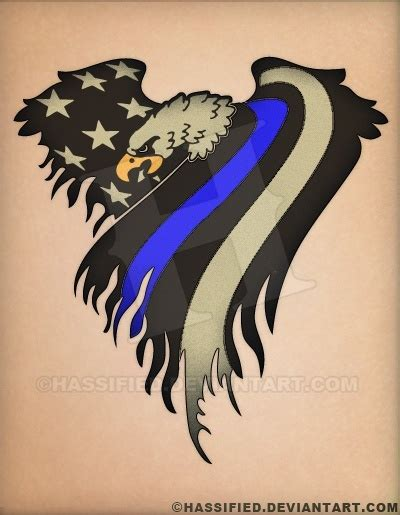 law enforcement tattoos designs enforcement eagle flag flags eagle and