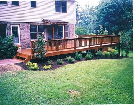 Deck Landscaping Ideas Deck Landscaping Design In Virginia