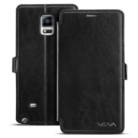 Samsung Galaxy Note 4 Wallet Flip Leather Sarung Dompet Original leather flip fold wallet cover stand card pouch for samsung galaxy note 4 ebay