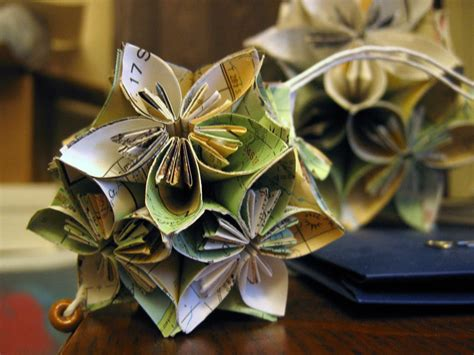 Make Paper Ornaments - origami ornaments out of scrap paper elfster