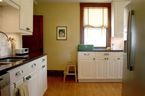 White Kitchen Cabinets With Wood Trim This Look White Cabinets Countertop And Wood Trim Kitchen And Dining