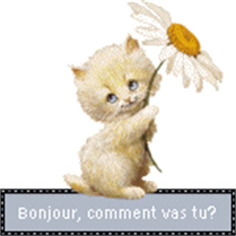 gifs animes bonjour images animees blinkies