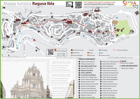 ragusa sicily map ragusa ibla tourist map