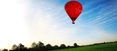 Hot Air Balloon Flight Sunset Gift Experience Package for Two