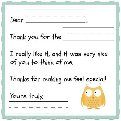 thank you letter to child s 17 best ideas about notes template on college