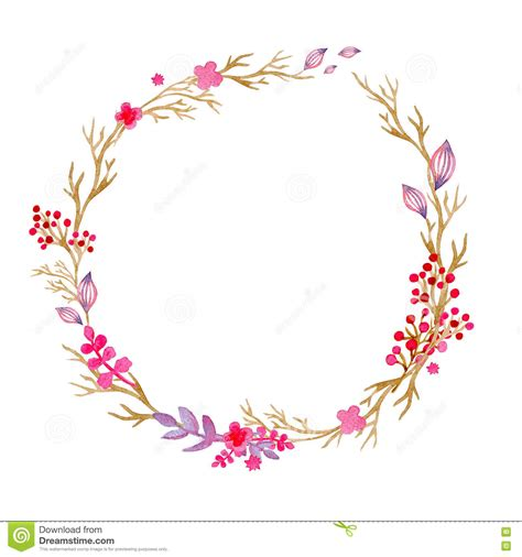 Lovely Christmas Inviation #3: Hand-drawn-illustration-watercolor-wreath-christmas-wreath-flowers-berries-perfect-invitations-greeting-cards-quotes-81664698.jpg