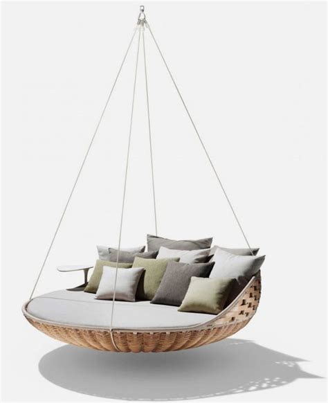 swing louge hanging swing lounge completing your chic life interior fans