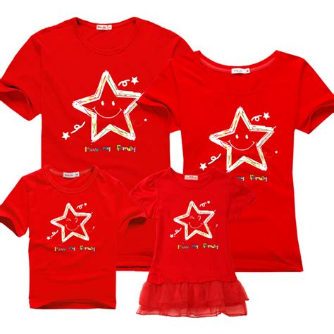 Matching Shirts In Stores Family Matching Clothes 2016 Summer Cotton Sleeved T