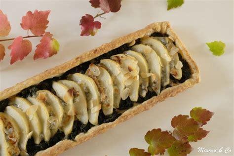 recette tarte aux poires gorgonzola et feuilles de blettes