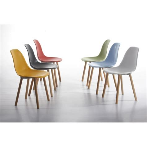 Eames Style Plastic Chair eames inspired eames style contemporary white dining chair
