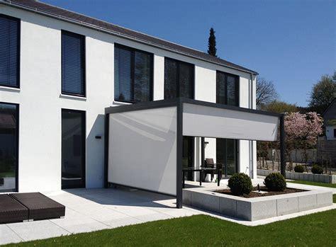 markisen terrasse sichtschutz terrasse markise kreatif zu hause design