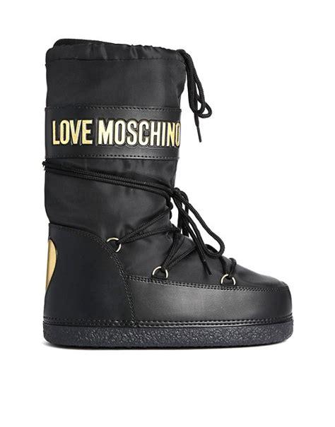 Moschino Boots moschino moschino black snow boots