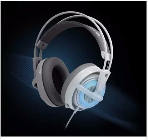 Headset Steelseries Siberia V2 Blue fone headset steel series siberia v2 blue p entrega