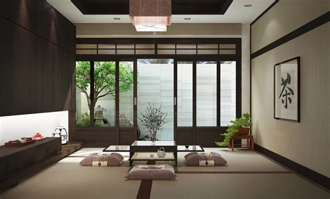japanese home interior zen inspired interior design