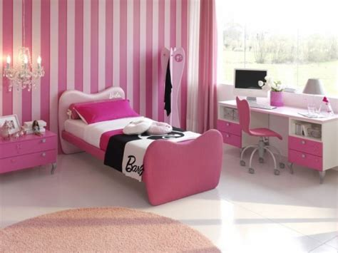 Pink Themed Bedroom - pink girls bedroom decorating ideas decosee com